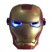 ışıklı Demir Adam Ironman Maskesi Yılbaşı Hediyesi O