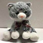 27cm Pelüş Peluş Oturan Kedi Sevgiliye Hediye Hediyelik Eşya