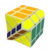 Fosforlu Siyah Zeminli Rubiks Zeka Küpü Sabır Axis Sihirli Küp-4