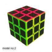 Fosforlu Siyah Zeminli Rubiks Zeka Küpü Sabır Axis Sihirli Küp-8