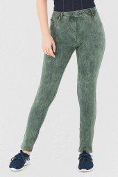Mite Love Yeşil Pantolon Görünümlü Kadın Tayt...