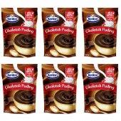 Kenton Puding Aile Boyu Çikolatalı 200gr 6lı