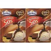 Kenton Sos Çikolata Aşkı Çikolatalı 128gr 2li...