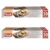 Piknik Gıda Ambalaj Alüminyum Folyo 30mt 2li