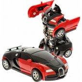 Tek Tuşla Robota Dönüşebilen Çek Bırak Tansformers Dönüşen Araba
