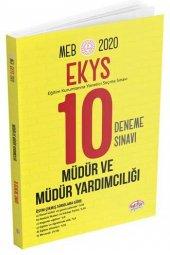 Editör 2020 Meb Ekys Müdür Ve Müdür Yardımcılığı 10 Deneme Sınavı
