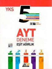 Hız Ve Renk Yayınları Ayt Eşit Ağırlık 5 Li Deneme