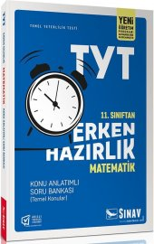 Sınav 11. Sınıf Matematik Tyt Erken Hazırlık Konu Anlatımlı Soru