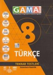 Gama Okul 8. Sınıf Türkçe Tekrar Testleri