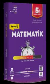 Başka Yayıncılık 5. Sınıf Matematik Prestij Yeni Nesil Soru Banka