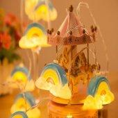 Dekoratif Gökkuşağı Şerit Led Işık Pilli İp Led-2