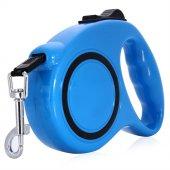 Kaktüskedi 5 Metre Otomatik Yürüyüş Tasması Mavi 711167