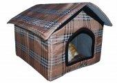 Kedi Köpek Yuvası Evi Kulübesi Yatağı Burberry...