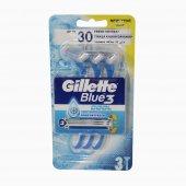 GILLETTE Blue 3 Makina Ice Blister 3 adet