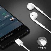 Google Pixel 3 Süper Bass Type-C Kulak içi Kulaklık P-108-4