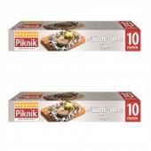 Piknik Gıda Ambalaj Alüminyum Folyo 10mt 2li