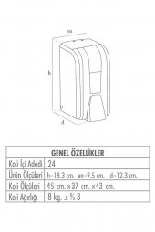Palex İnter Mini Köpük Sabun Dispenseri Kartuşlu-3