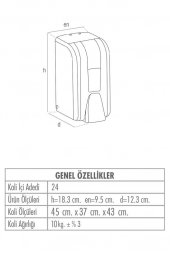 Palex İnter Mini Sıvı Sabun Dispenseri Dökme-3