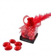Liva Badem Draje Küp Kutu Sevgililer Günü Çikolatası