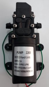 Akülü Su Aktarma Ve İlaçlama Motoru Pompası 12 Volt İtal