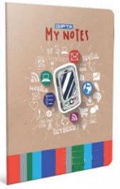 Gıpta X Notes A4 100 Yaprak Çizgili Tel Dikişli...