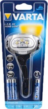 Varta Power Line Led X4 Head Lıght Kafa Feneri