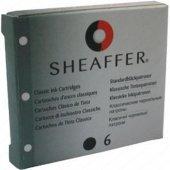 Sheaffer 6 Lı Siyah Dolma Kalem Kartuşu