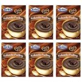 Kenton Puding Çikolata Aşkı Kakaolu 120gr 6lı