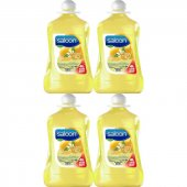 Saloon Sıvı Sabun Limon Çiçeği&nane 4lt 4lü