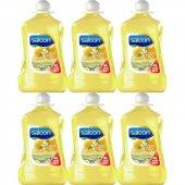 Saloon Sıvı Sabun Limon Çiçeği&nane 4lt 6lı