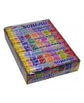 Mentos Rainbow Karışık Meyve Aromalı Çiğnenen Draje Şekerleme 37,5 Gr X 20li Paket