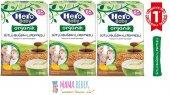 Hero Baby Organik Buğdaylı Pekmezli 200gr 3 Lü...