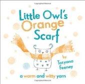 Oxford Lıttle Owls Orange Scarf