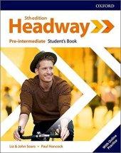 OXFORD NEW HEADWAY 5ED PRE-INT SB+WB