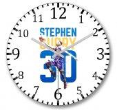 Stephen Curry Duvar Saati Bombeli Gercek Cam