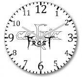 Celtic Frost Duvar Saati Bombeli Gercek Cam