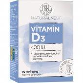 NaturalNest Vitamin D3 400 IU 10 ml Sprey Ücretsiz Aynı Gün Kargo