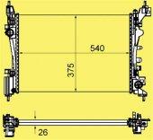 MOTOR SU RADYATORU BIPPER -NEMO -FIORINO 08-(1.4)(GVA)