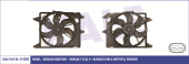 FAN MOTORU RENAULT CLIO 98-(1.2-1.4-1.5DCI-1.6)(KALE)