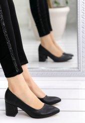 Helea Siyah Cilt Topuklu Ayakkabı-2