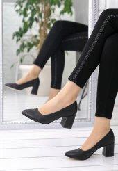 Helea Siyah Cilt Topuklu Ayakkabı-3