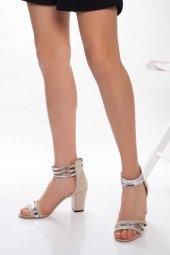 Pinko Vizon Süet Topuklu Ayakkabı