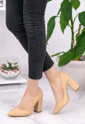 Gianna Nude Cilt Topuklu Ayakkabı