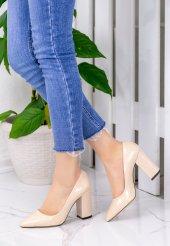 Gianna Vizon Rugan Topuklu Ayakkabı