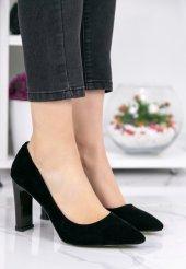 Gayle Siyah Süet Topuklu Ayakkabı-3
