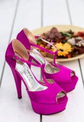 Edna38 Fuşya Topuklu Ayakkabı