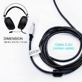 HP H160G Yüksek Performans Işıklı Gaming Kulaklık-4