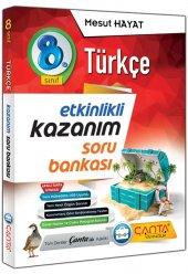 8. Sınıf Kazanım Etkinlikli Türkçe Soru Bankası  - Çanta Yayınları