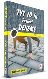 Delta Yks 1.Oturum Tyt 10 Lu Fasikül Deneme - Delta Kültür Yayınları