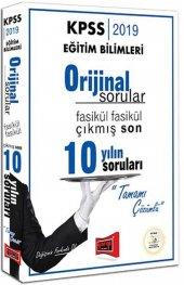 Yargı KPSS Orijinal 10 Yılın Soru 2019 - Yargı Yayınları